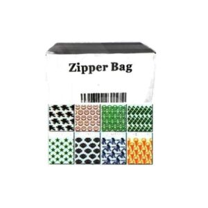 5 x Zipper Branded 2 x 2S Printed Crown Baggies