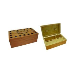 Grass Leaf Original Medium Wooden Storage Box