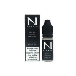 NIC NIC 18mg Nicotine Shot 10ml 100VG