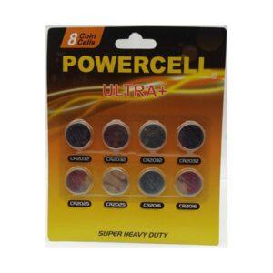 Powercell CR2032 3V Battery