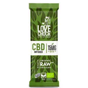 Raw Chocolate CBD Infused Bio 35g LOVECHOCK