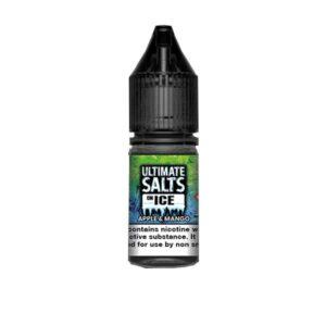 20mg Ultimate Puff Salts On Ice 10ml Flavoured Nic Salts (50VG/50PG)