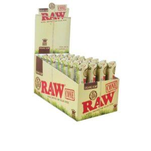 3 x 32 RAW Organic Hemp King Sized Pre-Rolled Cones