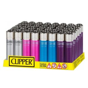 40 Clipper Crystal Large Classic Flint Lighters – CL2C222UKH