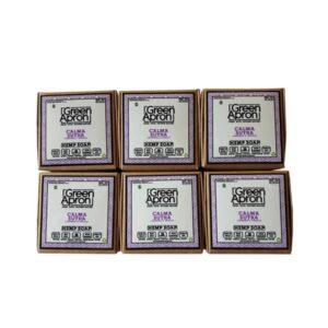Green Apron 100mg CBD Camasatra Soap – 6 Pack