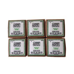 Green Apron 100mg CBD Gorilla Glue Soap – 6 pack