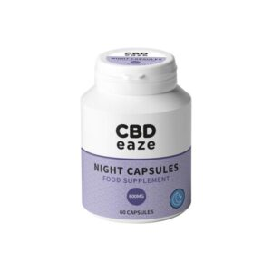 CBDeaze 600mg CBD Night Capsules – 60 Capsules