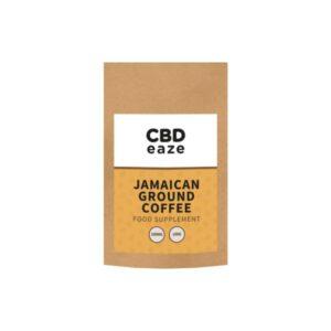 CBDeaze 100mg CBD Jamaican Ground Coffee – 100g