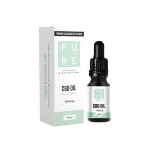 Pure 1000mg CBD Beard Oil – 10ml
