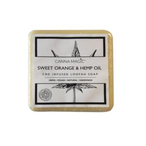 Canna Magic 100mg CBD Sweet Orange & Hemp Oil Soap 145g