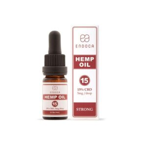 Endoca 1500mg Hemp Oil Drops 10ml