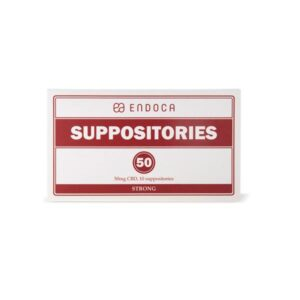 Endoca 500mg CBD Suppositories – 10 Count