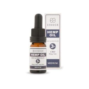 Endoca 300mg CBD Hemp Oil Drops Mint & Chocolate – 10ml