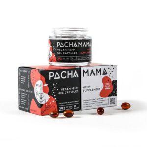 Pachamama 25mg CBD Vegan Hemp Gel Capsules – 30 Caps