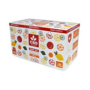 CBD Safe Way 1350mg CBD Citrus CBD Tea with Vitamin C – 30 Bags