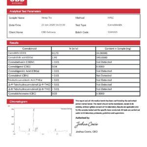 CBD Safe Way 1350mg CBD Natural CBD Tea – 30 Bags