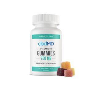 cbdMD 750mg CBD Gummies – 30 pack