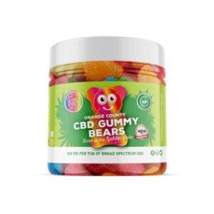 Orange County 400mg CBD Gummy Bears – Small Pack