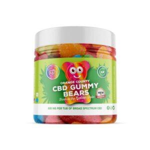 Orange County 800mg CBD Gummy Bears – Small Pack
