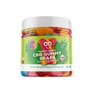 Orange County 1200mg CBD Gummy Bears – Small Pack