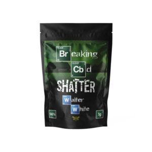 Breaking CBD 98% CBD Shatter – 1g