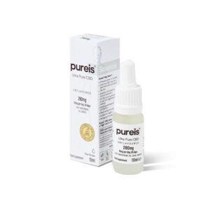 Pureis CBD 280mg CBD Ultra Pure Oral Drops – Unflavoured