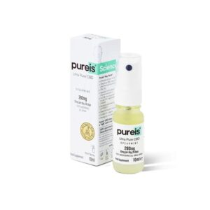 Pureis CBD 280mg Ultra Pure CBD Oral Spray – Spearmint