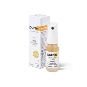 Pureis CBD 280mg CBD Ultra Pure CBD Oral Spray – Orange