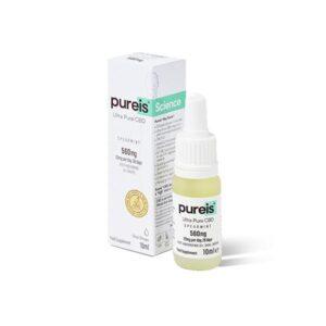 Pureis CBD 560mg Ultra Pure CBD Oral Drops – Spearmint