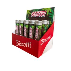 SPLYFT Cannabis Terpene Infused Hemp Blunt Cones – Biscotti