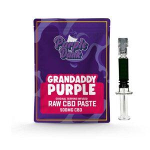 Purple Dank 1000mg CBD Raw Paste with Natural Terpenes – Grandaddy Purple