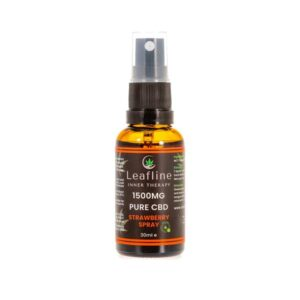 Leafline 1500mg CBD MCT Oil Spray – 30ml