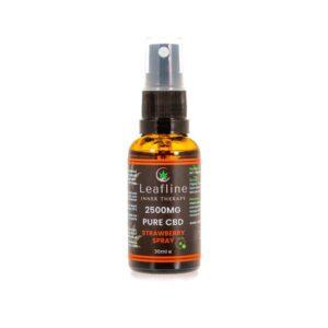 Leafline 2500mg CBD MCT Oil Spray – 30ml