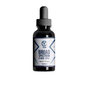 yCBG Broad-Spectrum 1000mg CBG Oil 30ml