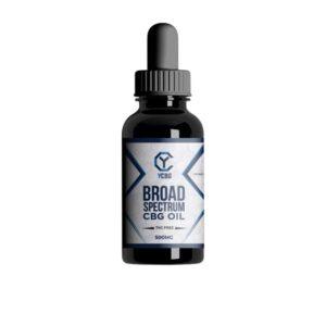 yCBG Broad-Spectrum 500mg CBG Oil 30ml