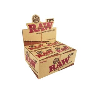 20 Raw Pre-Rolled Roach Tips