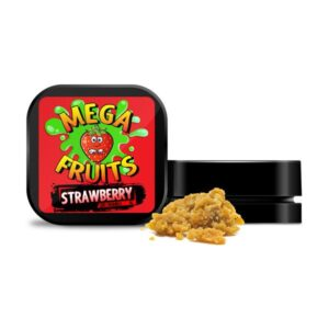 Mega Fruits 85% CBD 4.5% CBG Broad Spectrum CBD Crumble – 1g