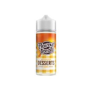 Flavour Treats Desserts 100ml Shortfill 0mg (70VG/30PG)