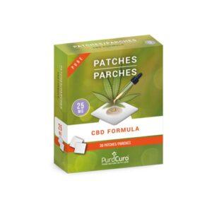 PuroCuro 25mg Pure CBD Formula Patches
