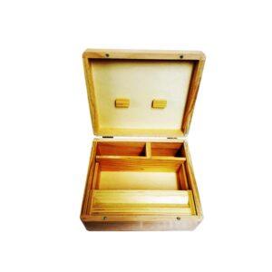 Grass Leaf Original Large Wooden Storage Box