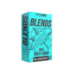 Herbmed CBD 2000mg CBD Vaping Liquid 10ml (80PG/20VG)