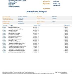 Fit CBD 1000mg CBD Spearmint Perform CBD Oil 30ml