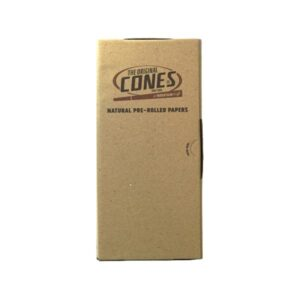 1000 x Mountain High King Size Pre-Rolled BULK Cones Natural