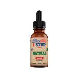 1 Step CBD 500mg Natural Oil 30ml