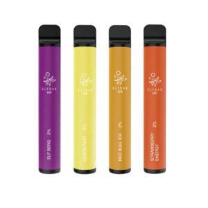 NEW 20mg ELF Bar 600 Puffs Disposable Vape Pod