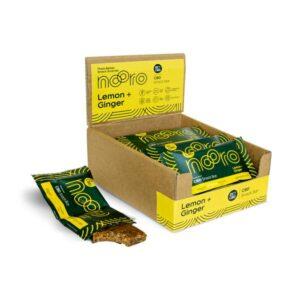 Nooro 25mg CBD Lemon & Ginger CBD Oat Bar – 45g