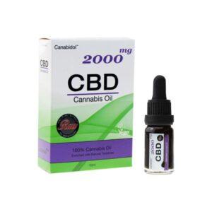 Canabidol 2000mg CBD Raw Cannabis Oil – 10ml