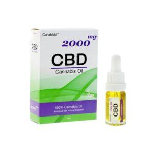 Canabidol 2000mg CBD Cannabis Oil – 10ml