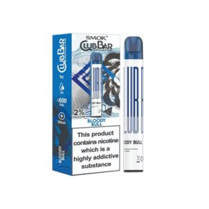20mg Smok Club Bar Disposable Vape Pen 600 Puffs