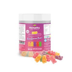 Hempthy 1200mg CBD Fizzy Gummy Bears – 40 pieces